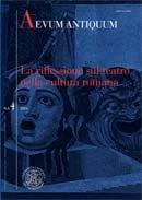 In margine a: Gianna Petrone, L'ampolla tragica (Hor. ars 97). Stili di voce tra teatro e retorica