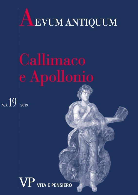AEVUM ANTIQUUM - 2019 - 19. CALLIMACO E APOLLONIO