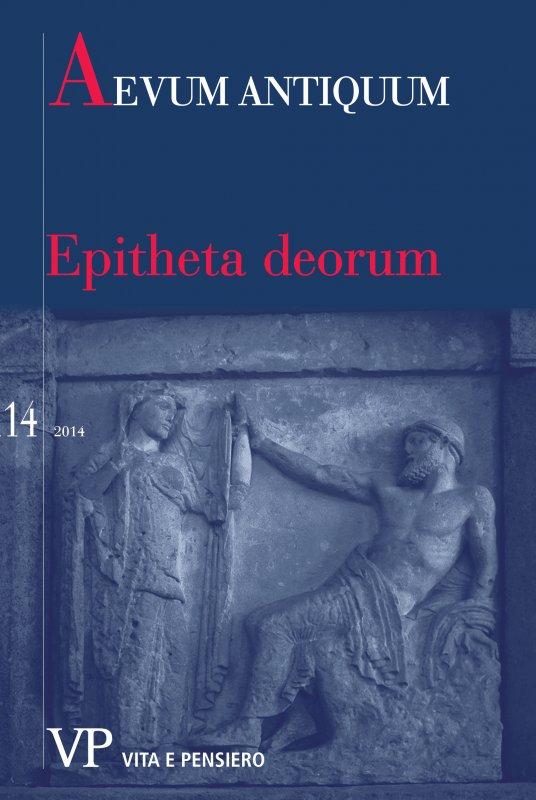 Due epiteti pindarici di Zeus: ἐλασιβρόντας (FR. 144), ἐλατὴρ βροντᾶς (Ol. IV 1)